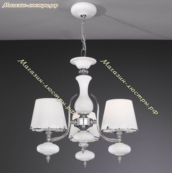 L 20211/3.02 white glass Paderno luce (Италия)
